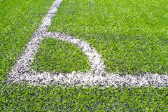 Football grass background Stock Images
