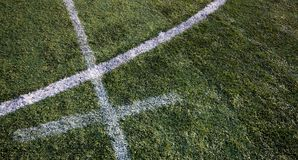 Football grass Royalty Free Stock Photography