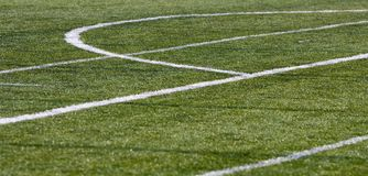 Football grass Royalty Free Stock Photo