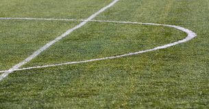 Football grass Stock Photos