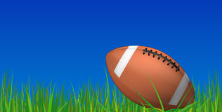 Football grass Stock Photo