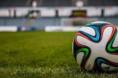 Football, Grass, Player, Ball Stock Photos