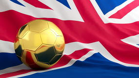 Football great britain Royalty Free Stock Photos