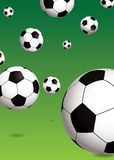 Football green Stock Image