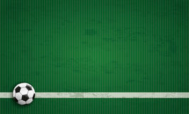 Football Ground Green Cover Long Royalty Free Stock Photos