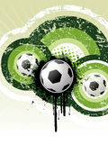 Football grunge background  Stock Photography