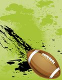 Football Grunge Background Royalty Free Stock Photography