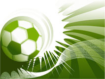 Football grunge background Royalty Free Stock Images