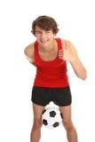 Football guy Stock Image