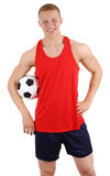 Football guy Royalty Free Stock Images