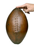 Football hand Stock Images