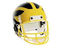 Football-Helm Lizenzfreies Stockfoto