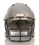 Football helmet. With reflection on white background Royalty Free Stock Images