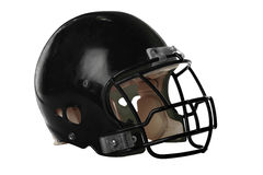 Football Helmet. Isolated over white background - With Clipping Path Stock Photo