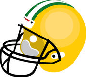 Football Helmet Royalty Free Stock Image