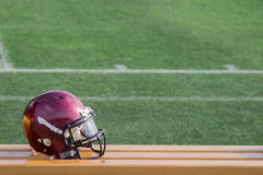 Football helmet Stock Photography