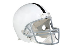 Football Helmet Facing Right Royalty Free Stock Image