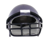 Football helmet four Royalty Free Stock Images