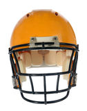 Football Helmet - Front View Royalty Free Stock Photography