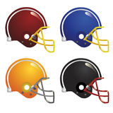 football helmet vector Stock Images