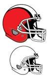 Football helmet. Vector of football helmet, easy to edit Stock Photography
