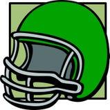 Football helmet vector illustration Stock Image