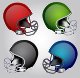 Football Helmets Royalty Free Stock Image