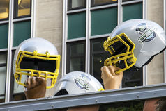 Football Helmets Royalty Free Stock Images