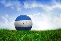 Football in honduras colours Stock Photo
