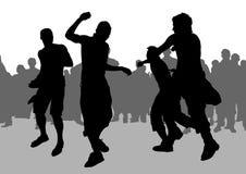 Football hooligans Stock Images