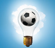 Football idea Stock Images