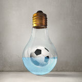 Football idea Royalty Free Stock Photography