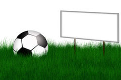 Football illustration Royalty Free Stock Photography