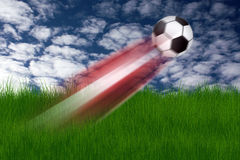Football illustration Royalty Free Stock Image