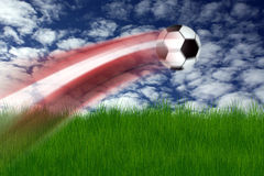 Football illustration Stock Images