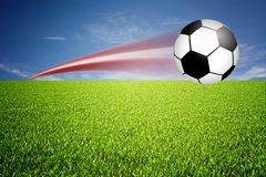 Football illustration Royalty Free Stock Photo