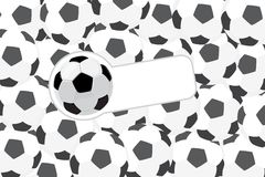 Football illustration Royalty Free Stock Images