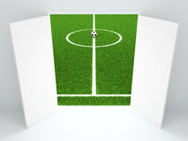 Football illustration Stock Image
