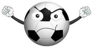 A football Royalty Free Stock Images