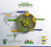 Football Infographic Vector Stock Photo