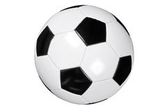 Football isolated clipping path Royalty Free Stock Photography