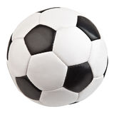 Football isolated on the white background royalty free stock photos