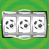 Football jackpot Royalty Free Stock Photos