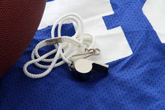 Football Jersey. Laying against a white background Stock Photography