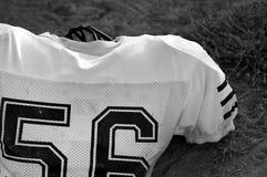 Football jersey on grass Stock Photo