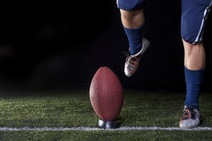 Football Kickoff Royalty Free Stock Photos