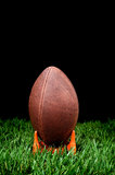 Football kickoff Royalty Free Stock Image