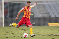 Football: Korona Kielce - Wisla Plock Royalty Free Stock Image