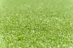 Football lawn, grass foreground Stock Image