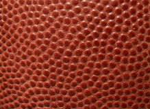 Football leather. Close-up of an American football stock photos